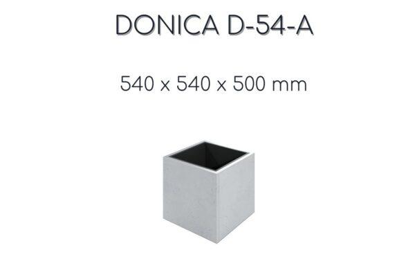 donice betonowe kwadrat