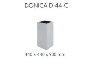 """Donica Betonowa D44 """"C"""" – VHCT"""