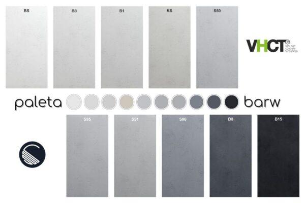 kolory beton architektoniczny vhct
