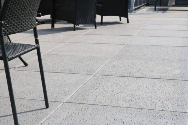 nowoczesne ogrody w betonie