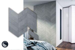 Beton Architektoniczny 3D Jodełka