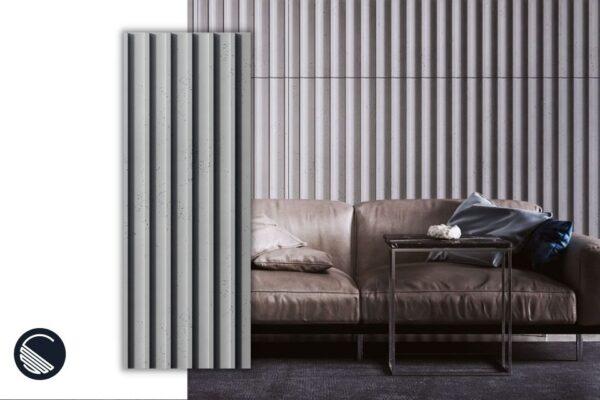 beton architektoniczny lamele inspiracje