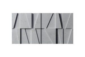 Beton Architektoniczny panel 3D Mozaika