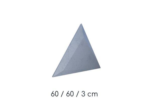 beton architektoniczny trójkąty
