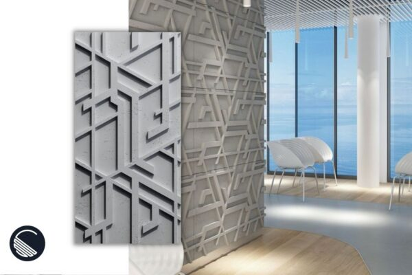 beton architektoniczny na klatce schodowej ceramico24
